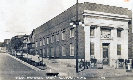 First National Bank, Gilbert Minnesota, 1930's