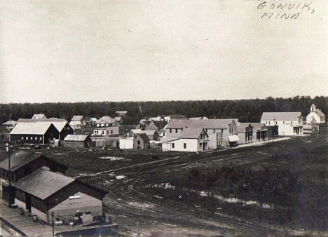 General view, Gonvick Minnesota, 1910's