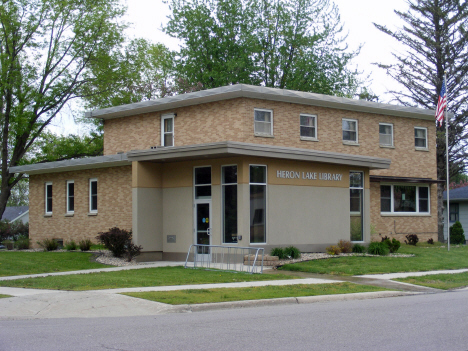 Heron Lake Library, Heron Lake Minnesota, 2014