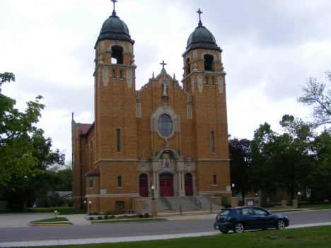 Sacred Heart Catholic Church, Heron Lake Minnesota, 2014