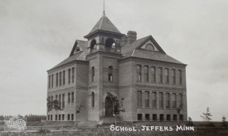 School, Jeffers Minnesota, 1913