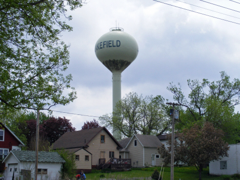 Water Tower, Lakefield Minnesota, 2014
