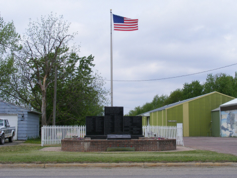 Veterans Memorial, Lakefield Minnesota, 2014