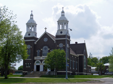 St. Anthony Catholic Church, Lismore Minnesota, 2014
