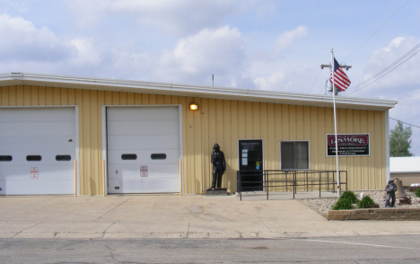 Fire Hall, Lismore Minnesota, 2014