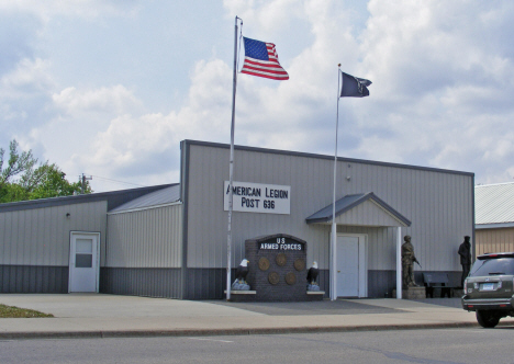 American Legion Post 636, Lismore Minnesota