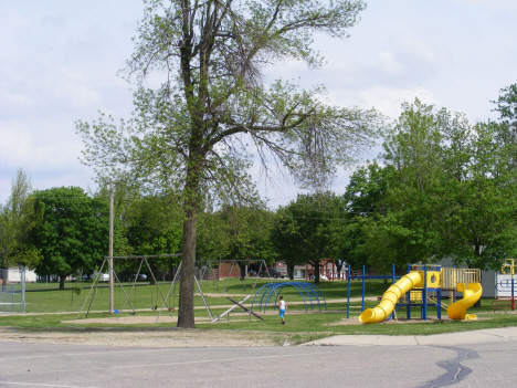 City Park, Lismore Minnesota, 2014