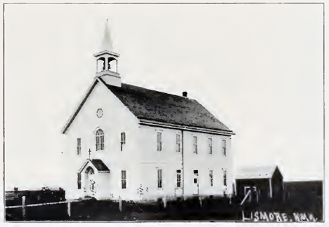 Catholic Church, Lismore Minnesota, 1908