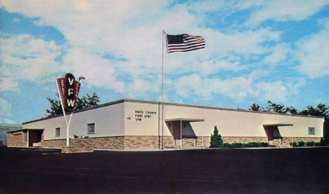 Rock County VFW Post, Luverne Minnesota, 1960's