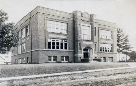 High School, Mabel Minnesota, 1919