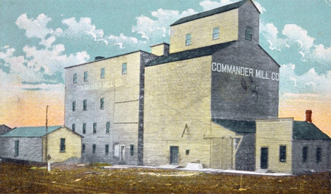 Commander Mill Company, Mapleton, Minnesota, 1914