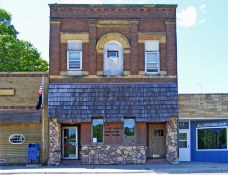 Post Office, Mapleton Minnesota, 2014