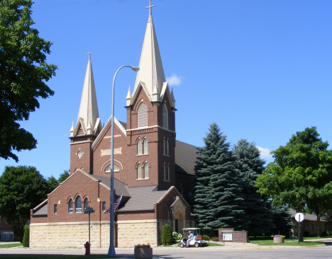 St. John's Lutheran Church, Mapleton Minnesota, 2014