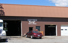 Gartner Garage, Mapleton Minnesota