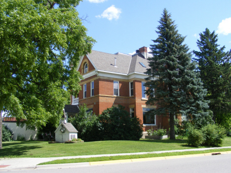 Older home, Mapleton Minnesota, 2014