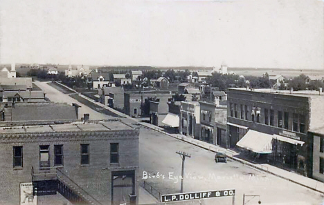 Birds eye view, Marietta Minnesota, 1913