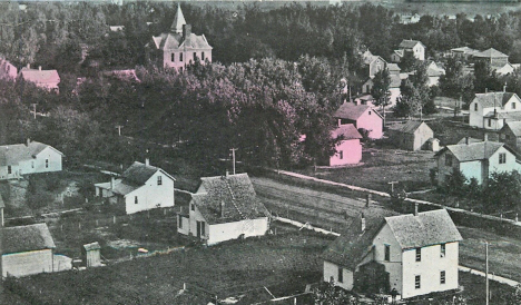 Residential section, Marshall Minnesota, 1912