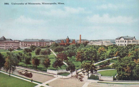 University of Minnesota, Minneapolis Minnesota, 1913