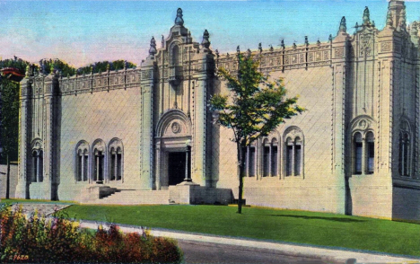 Walker Art Gallery, Minneapolis Minnesota, 1938