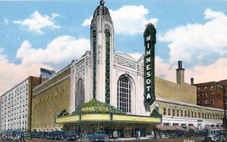 Minnesota Theater, 9th and LaSalle, Minneapolis Minnesota, 1920's