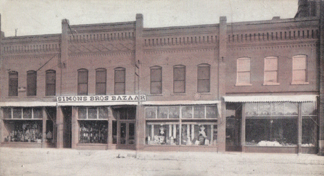 Simon Bros. Bazaar, Montevideo Minnesota, 1908