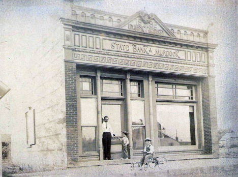 State Bank of Murdock, Murdock Minnesota, 1908