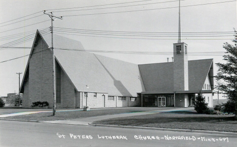 St. Peter's Lutheran Church, Northfield Minnesota, 1950's