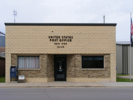 Post Office, Odin Minnesota, 2014