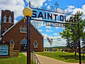 St. Olaf Lutheran Church, Odin Minnesota