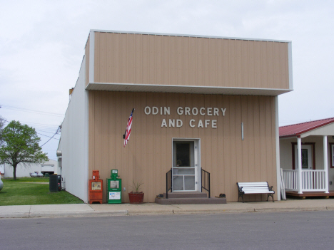 Odin Grocery and Cafe, Odin Minnesota, 2014