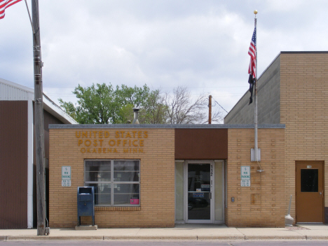 Post Office, Okabena Minnesota, 2014