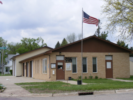 City Hall, Okabena Minnesota, 2014