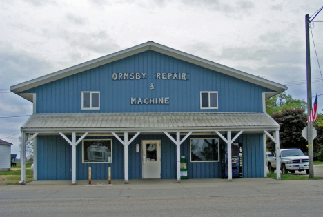 Ormsby Machine and Repair, Ormsby Minnesota. 2014