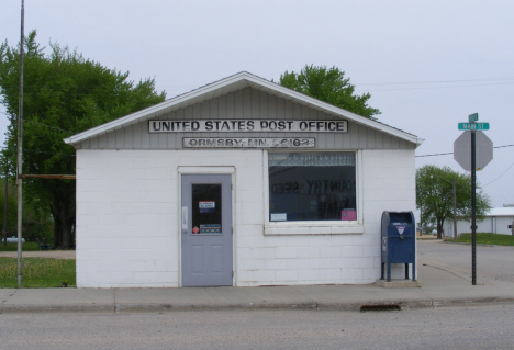 Post Office, Ormsby Minnesota, 2014