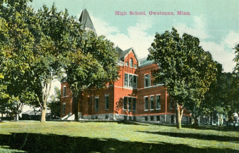 High School, Owatonna Minnesota, 1912