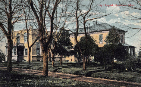 City Hospital, Owatonna Minnesota, 1910