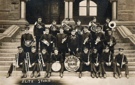 Imperial Band, Owatonna Minnesota, 1910's?