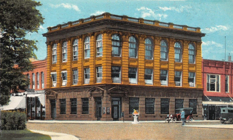 Security State Bank, Owatonna Minnesota, 1924