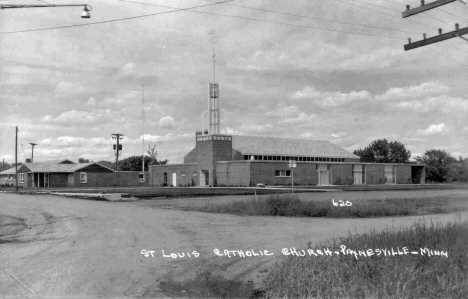 St. Louis Catholic Church, Paynesville Minnesota, 1950's