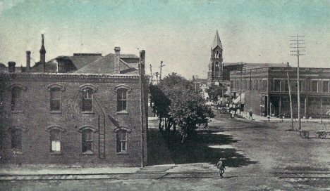 8th Street, Perham Minnesota, 1918