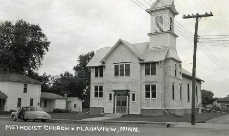 Methodist Church, Plainview Minnesota, 1962