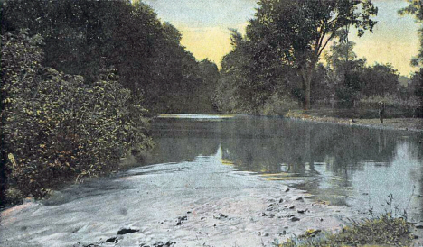 Whitewater River, Plainview Minnesota, 1911