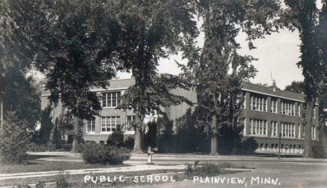 Public School, Plainview Minnesota, 1940's