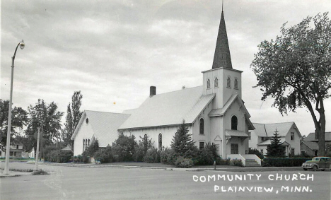 Community Church, Plainview Minnesota, 1958