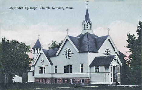 Methodist Episcopal Church, Renville Minnesota, 1908