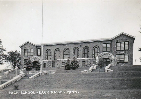 High School, Sauk Rapids Minnesota. 1940's