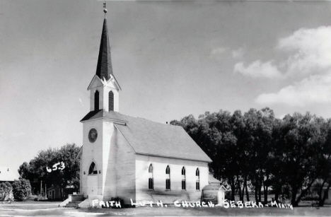 Faith Lutheran Church, Sebeka Minnesota, 1960's