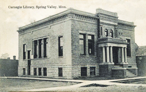 Carnegie Library, Spring Valley Minnesota, 1910