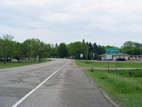 Street view, State Highway 4, Trimont Minnesota, 2014