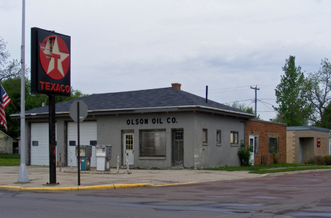 Former Olson Oil Company building, Trimont Minnesota, 2014